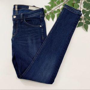 rag & bone Woodford Skinny Jeans Medium Wash 27